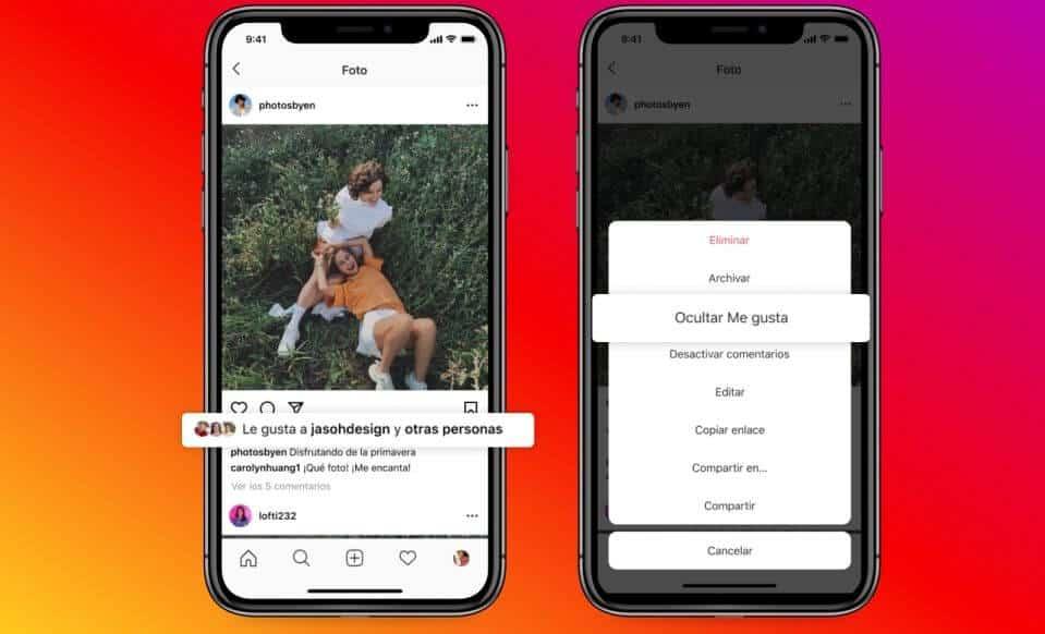 Instagram ya permite elegir si mostrar o no el número de likes (y pronto también lo hará Facebook)