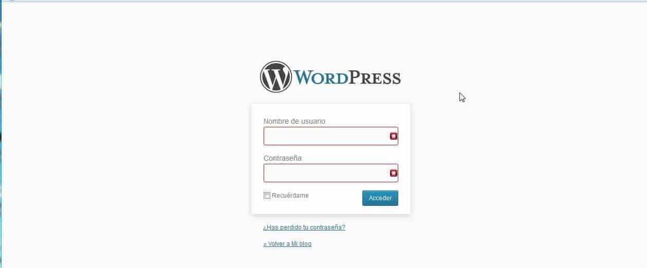 Recuperar acceso a WordPress con phpMyAdmin